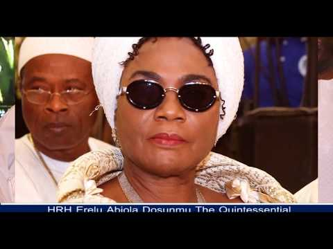 ERELU ABIOLA DOSUNMU THE ROYAL CULTURAL AMBASSADOR AT 70