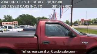 2004 FORD F-150 HERITAGE CLASSIC for sale in Dickinson, TX 7