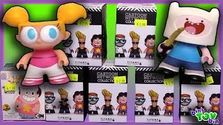 """We open up some Titan Series vinyl figures blind boxes featuring Cartoon Network characters both old and new!SUBSCRIBE and never miss a video! http://www.youtube.com/subscription_center?add_user=BinsToyBinAbout Bin's Toy Bin →Adventures in toy collecting! Join husband and  wife team, Bin and Jon (and their son Teagan, too) as they review the latest (and sometimes not-so-latest) toys in their own unique way! Check back daily for new videos!  Also be sure to visit our 2nd YouTube channel for our Family Vlogs!GET YOUR OFFICIAL BIN'S TOY BIN GEAR! →  http://binstoybin.spreadshirt.com/Follow Bin & Jon → Bin's Toy Bin Family Vlogs (Our 2nd YouTube Channel): http://www.youtube.com/BinsToyBinTravelOfficial Site: http://binstoybin.com/IG: @binstoybinFB: https://www.facebook.com/BinsToyBinSnapchat: real_binstoybinTwitter: @BinsToyBinG+: https://plus.google.com/+BinsToyBinMUSIC USED:""""Beach Front Property"""" by Silent Partner from YouTube Audio Library"""