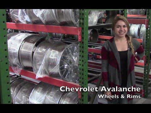 Factory Original Chevrolet Avalanche Wheels & Chevrolet Avalanche Rims – OriginalWheels.com