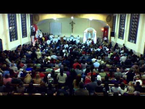 Missa de Maria Passa na Frente Paroquia Nossa  Senhora das Graças dia 27/04