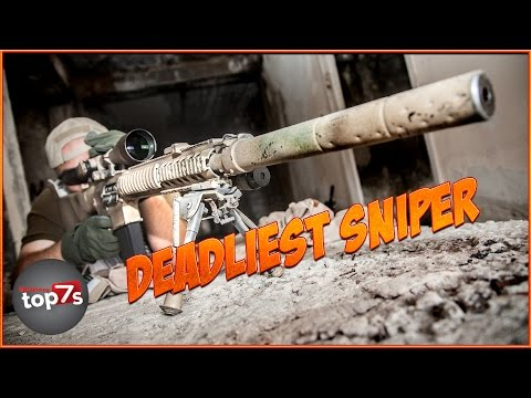 Top 7 Most Dangerous Military Snipers
