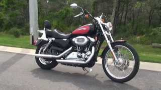 8. Used 2008 Harley Davidson Sportster 1200 Custom Motorcycles for sale - Daytona Beach