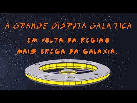 A Grande Disputa Galática em volta da região mais brega da galáxia - Desenho animado brasileiro