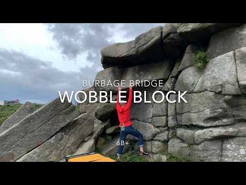 Burbage Bridge - Wobble Block 6B+