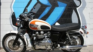 3. 2005 Triumph Bonneville T100 Motorcycle For Sale