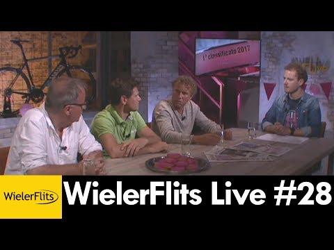 WIELERFLITS LIVE met Michael Boogerd, Aart Vierhouten en Jaap Stalenburg