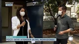 Poço da Praça Portugal deve atender 25 mil moradores de Bauru