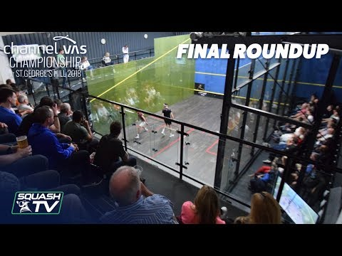 Squash: Momen v Farag - Final Roundup - Channel VAS 2018