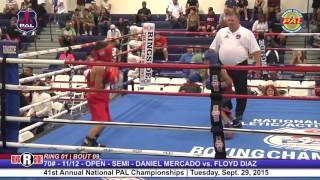 41st Nat. PAL Boxing Tournament | DANIEL MERCADO vs. FLOYD DIAZ