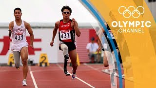 "These running prosthetics are capable of recreating the movements of a Paralympian's joints to perfection. Discover the amazing technology that takes athletes even further in the ""The Tech Race"": http://bit.do/TechRaceENSubscribe to the official Olympic channel here: http://bit.ly/1dn6AV5"