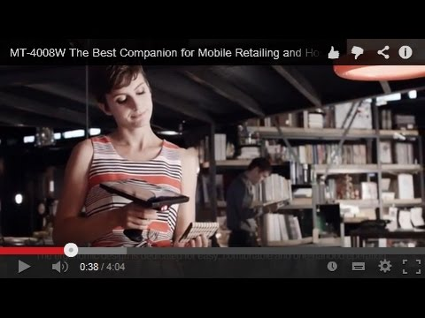 Posiflex MT-4008W Mobile POS, The Best Companion for Mobile Retailing and Hospitality