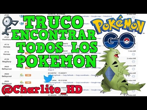 RADARES PARA POKEMON GO 2017 | POKEMON GO