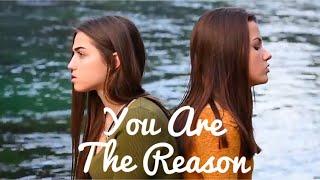 Video You Are The Reason - Calum Scott (Olivia Panacci & Jessica Baio Cover) MP3, 3GP, MP4, WEBM, AVI, FLV Januari 2018