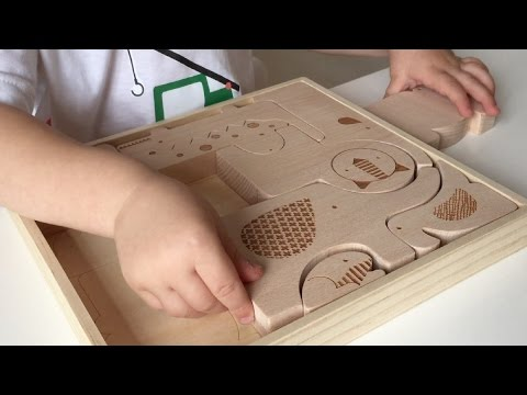 Learn With Wooden Puzzle For Imaginative Play