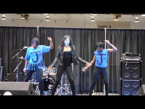 Janet Jackson (Musical Artist) - For Children by Children performing at the 2013 Ebony Black Woman's Expo Artistic Director: Rod Lewis.
