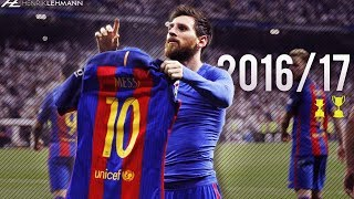 "Download the Onefootball app here: http://bit.do/HenrikLehmann_2The best highlights from Leo Messi for FC Barcelona during the 2016/17 season. Enjoy!Click ""Show more"" to see the music and more!● Edited and produced by: Henrik Lehmann    Twitter: https://twitter.com/henriklehmannn● Arabic speaking? Check out FCB World:    Twitter: https://twitter.com/FCBW_A7♫ Music: AK & Bayble - Low Light● Clips from: SH10Comps, IramMessiTV, Raheem Comps, La LigaThank you for watching! Please leave a like if you enjoyed and if you didn't, leave a dislike and tell me what I can do better. I'm always thankful for constructive critisism! Subscribe to my channel to watch my latest videos as they come out.""Copyright Disclaimer Under Section 107 of the Copyright Act 1976, allowance is made for ""fair use"" for purposes such as criticism, comment, news reporting, teaching, scholarship, and research. Fair use is a use permitted by copyright statute that might otherwise be infringing. Non-profit, educational or personal use tips the balance in favor of fair use."""