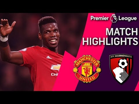 Video: Manchester United v. Bournemouth | PREMIER LEAGUE MATCH HIGHLIGHTS | 12/30/18 | NBC Sports