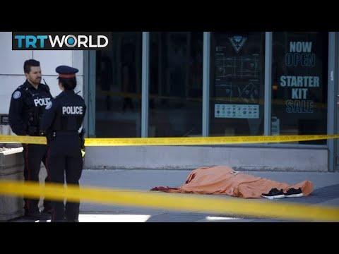 Breaking News: At least 8 pedestrians struck by van in Toronto