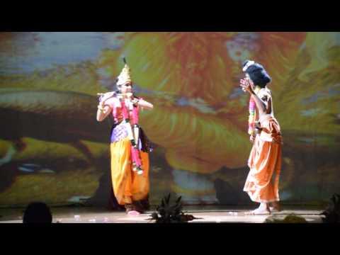 Video Krishna Mukunda Murari at Rasmayi (Sheikh Rashid Auditorium Dubai )  Bhavya Bhuwal download in MP3, 3GP, MP4, WEBM, AVI, FLV January 2017