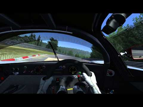 Assetto Corsa Sauber Mercedes C9 6:33.971 lap at Nürburgring Nordschleife (with corner names)