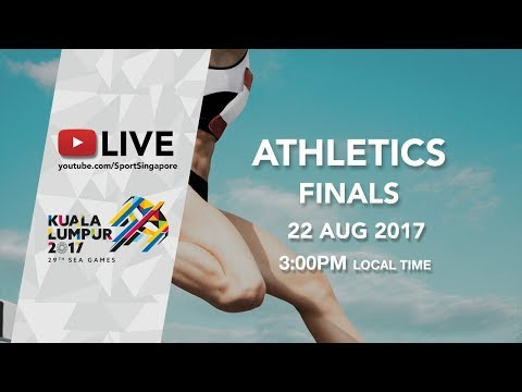 Athletics Finals Session 1 | 29th SEA Games 2017 (видео)