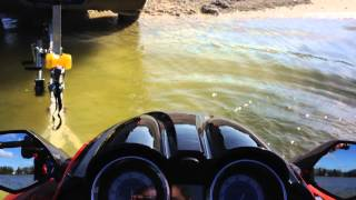 10. 2014 Yamaha fzs waverunner supercharged Top speed run