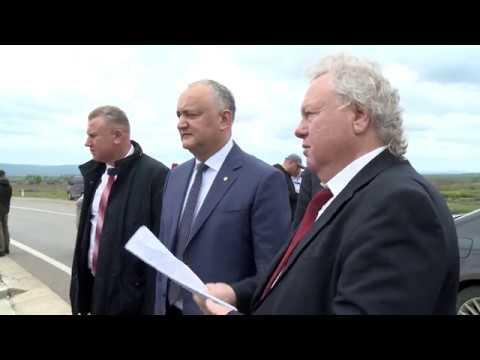 Igor Dodon s-a familiarizat cu activitatea a trei agenți economici din raionul Ungheni