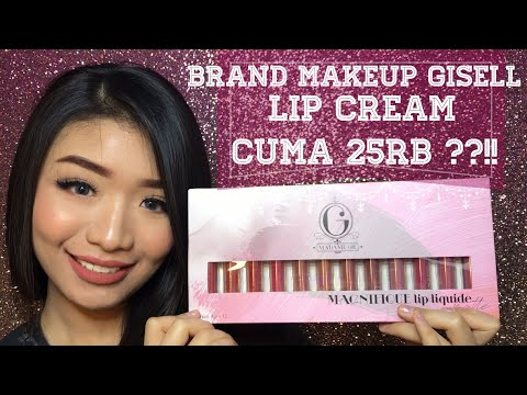 Review And Swatch All Shades Madame Gie By Gisella Anastasia || Murah Banget!! Cuma 25rb