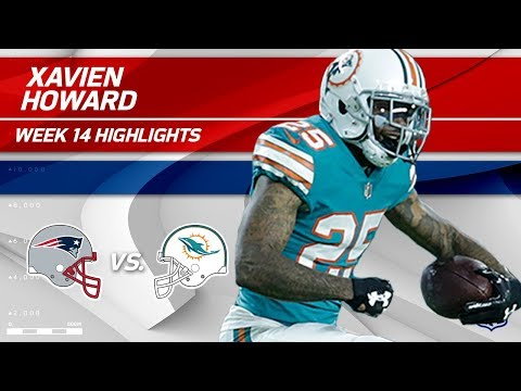 Video: Xavien Howard's Electric Night w/ 2 INTs vs. Pats! | Patriots vs. Dolphins | Wk 14 Player Highlights