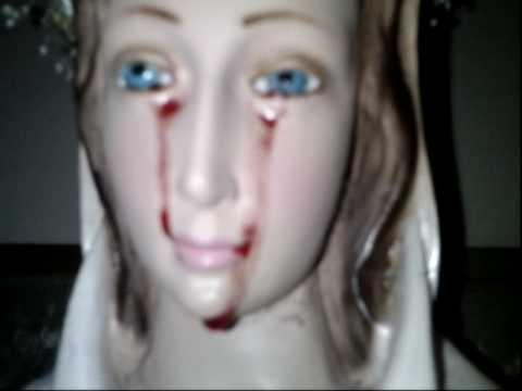 Rosa mistica: Lagrimas de sangre.
