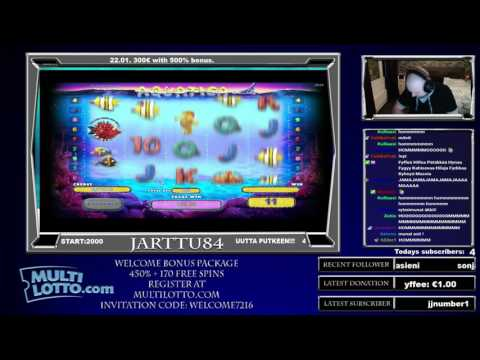 Aquatica Slot Super Big Win At Bonus Game!!