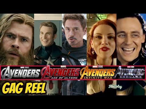 All Avengers(1,2,3,& 4) Hilarious Bloopers and Gag Reel | Avengers: Endgame Included