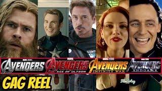 Video All Avengers(1,2,3,& 4) Hilarious Bloopers and Gag Reel | Avengers: Endgame Included MP3, 3GP, MP4, WEBM, AVI, FLV September 2019