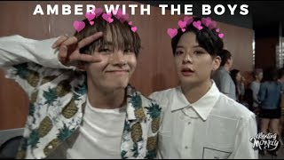 Video Amber interactions with male idols lol MP3, 3GP, MP4, WEBM, AVI, FLV April 2018