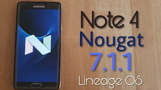 Hi guys today we are going to install Android 7.1.1 to the Galaxy Note 4 :) If you have urgent questions follow and write me on: ►Snapchat: timur_alaskara ►I...