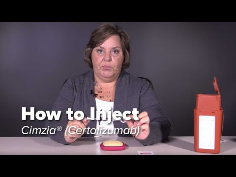 How to Inject Cimzia (certolizumab pegol)