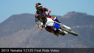 9. 2013 Yamaha YZ125 First Ride - MotoUSA