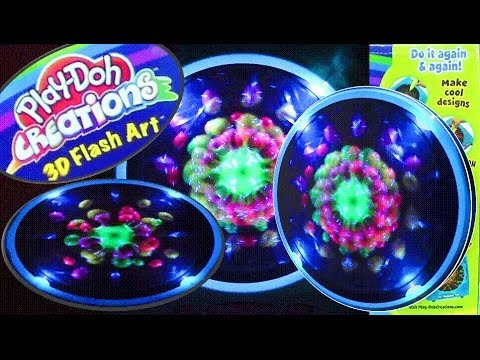 Play-Doh Creations 3D Flash Art Play Dough Make 3D Designs Play-Doh