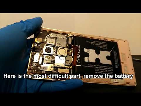 How to replace the battery - BLU Pure XL, Gionee Elife E8, Allview X2 Xtreme