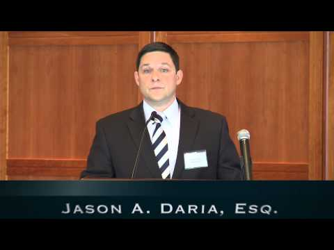 Philadelphia Personal Injury Attorney Jason A. Daria Discusses Workplace Injury Cases