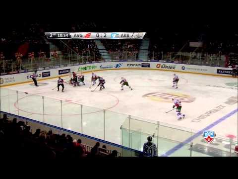 Лучшие сэйвы второго раунда плей-офф 14-15 / KHL Top 10 Saves for R2 of 2014-15 Play-offs (видео)