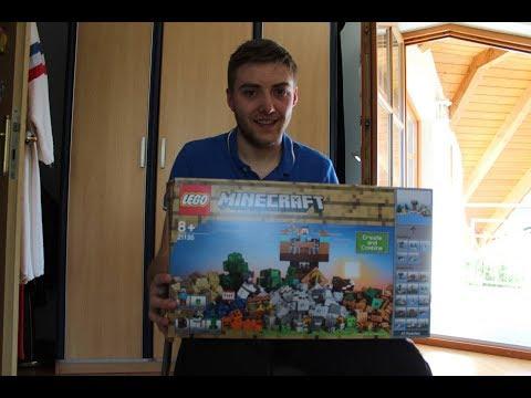 LEGO Minecraft: Die Crafting Box 2.0 21135 | Lego Review