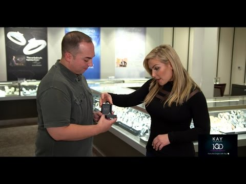 Natalya helps a WWE fan pick the perfect engagement ring