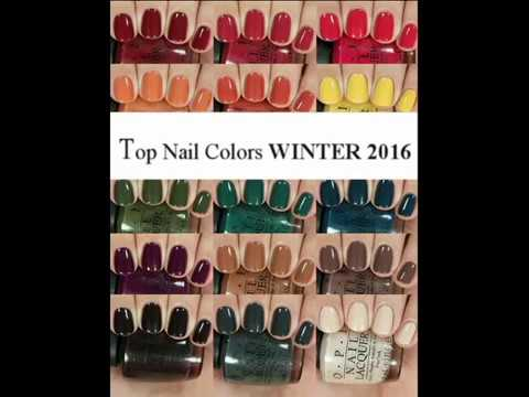 TOP Nail Colors Winter 2016- 2017 - Fashion Trends