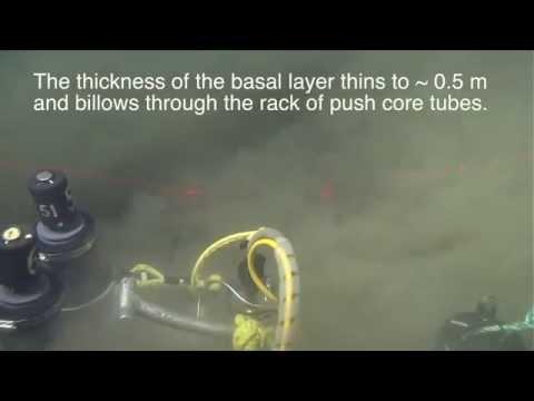 Submarine ROV Captures Turbidity Current on Video