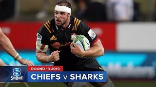 Chiefs v Sharks Rd.13 2019 Super rugby video highlights | Super Rugby Video Highlights