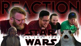 Video Star Wars: The Last Jedi Official Trailer REACTION!! #TLJReaction MP3, 3GP, MP4, WEBM, AVI, FLV Desember 2017