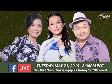 Livestream với Hồng Đào, Hương Thủy, Chí Tài - May 21, 2019 - Thời lượng: 1 giờ và 10 phút.