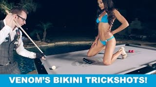 Video Ozone Billiards SEXY BIKINI TRICK SHOTS - Venom Trickshots III: Ep 1 MP3, 3GP, MP4, WEBM, AVI, FLV Oktober 2017